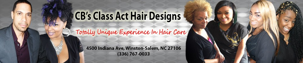 Cropped website header cb 39 s class act hair for A class act salon